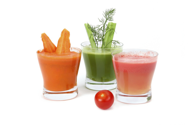 carrot, celery and tomato juice